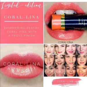 Lipsense coral lina sealed
